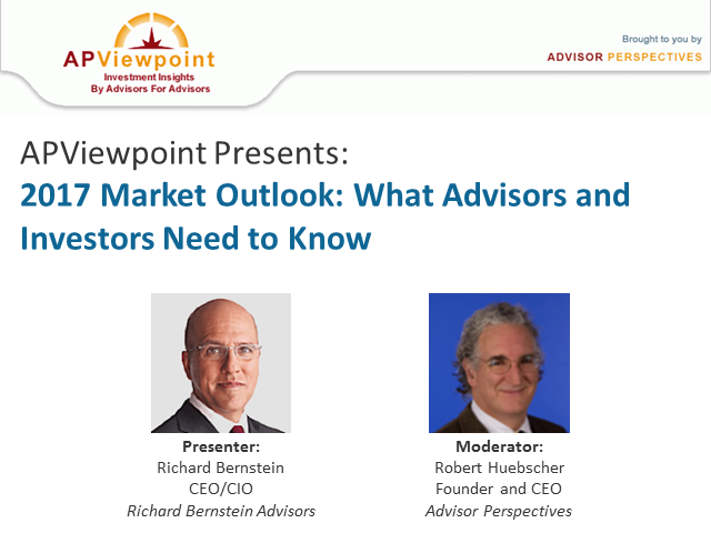 2017 Market Outlook: What Advisors and Investors Need to Know