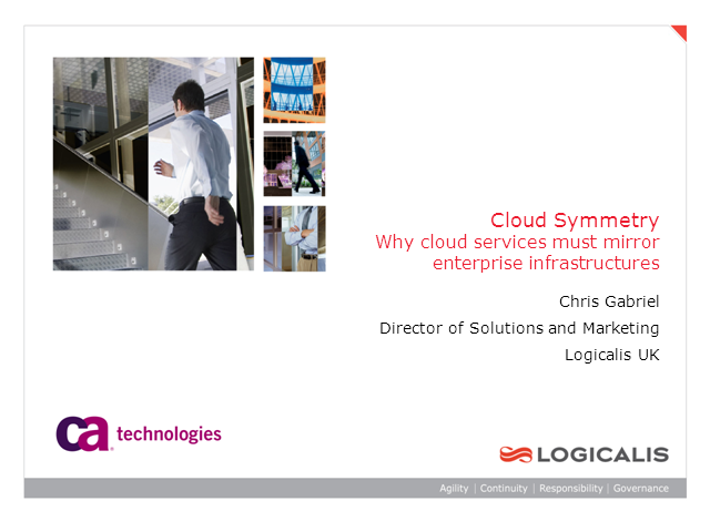 Why Cloud Services Must Mirror Enterprise Infrastructures