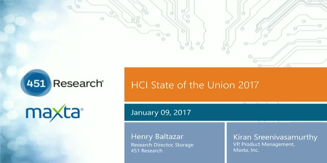 Hyperconverged Infrastructure: 2017 State of the Union
