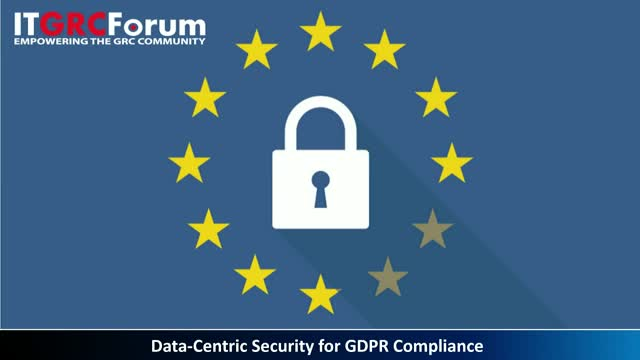 Data-Centric Security for GDPR Compliance