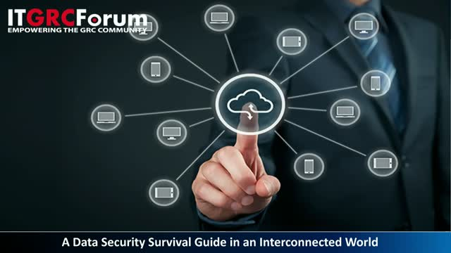 CPE Webinar: A Data Security Survival Guide in an Interconnected World