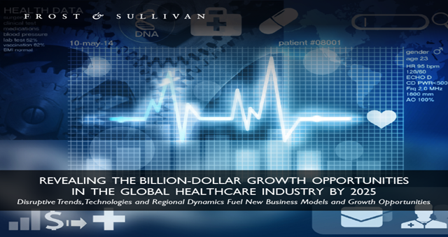 Billion-dollar Growth Opportunities in the Global Healthcare Industry by 2025