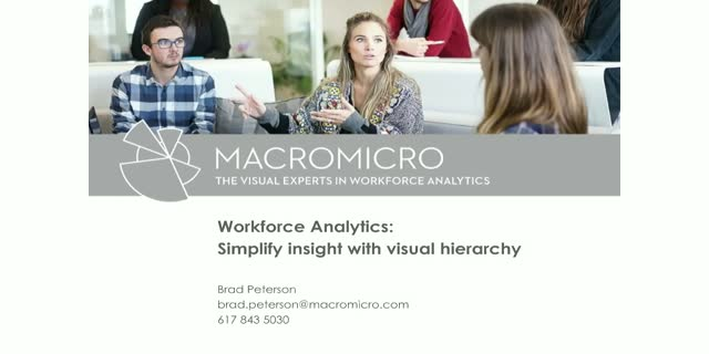 Workforce Analytics: Simplify Insight with Visual Hierarchy