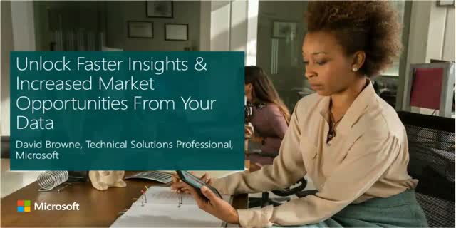 Unlock Faster Insights & Increased Market Opportunities From Your Data