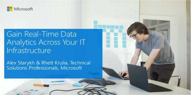 Gain Real-Time Data Analytics Across your IT Infrastructure