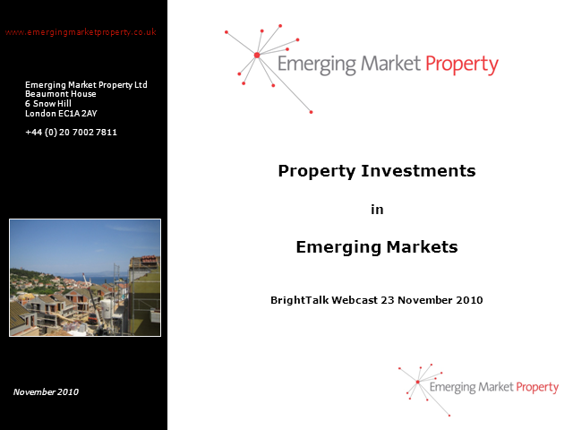 Property Investments in Emerging Markets