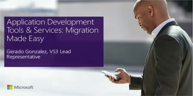 Application Development Tools & Services: Migration Made Easy