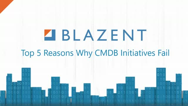 Top 5 Reasons Why CMDB Initiatives Fail