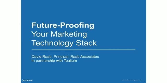 Future-Proofing Your Marketing Technology Stack