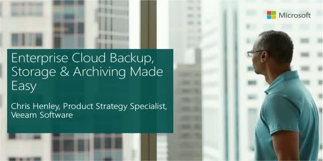 Enterprise Cloud Backup, Storage & Archiving Made Easy