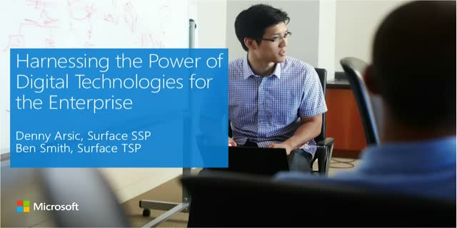 Harnessing the Power of Digital Technologies for the Enterprise