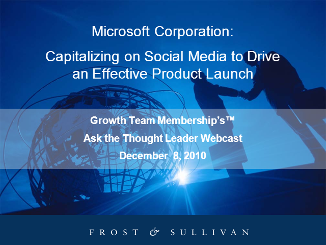 Capitalizing on Social Media to Drive an Effective Product Launch