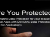 Optimizing Data Protection for your Mission Critical Apps with Dell EMC Data Pro