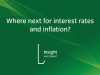 Where next for interest rates and inflation?