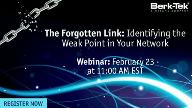 The Forgotten Link: Identifying the Weak Point in Your Network