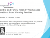Flexible and Family Friendly Working for Universities as Employers