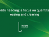 Liability hedging: a focus on quantitative easing and clearing