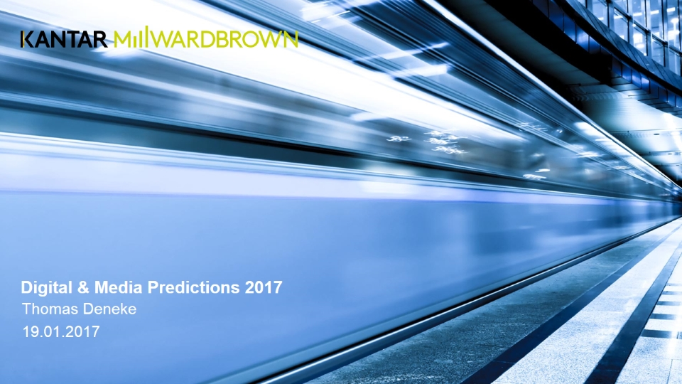 Digital & Media Predictions 2017