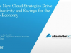 How New Cloud Strategies Drive Productivity and Savings for the App Economy