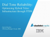 Dial Tone Reliability:  Optimizing Hybrid Telco Infrastructure through ITSM