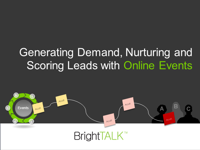 Generating Demand, Nurturing and Scoring Leads with Online Events