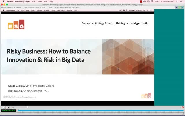 Risky Business: How to Balance Innovation & Risk in Big Data