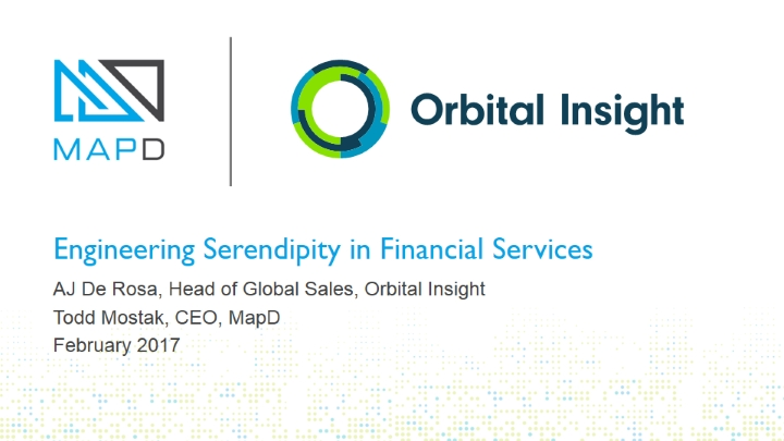 How to engineer serendipity in financial services