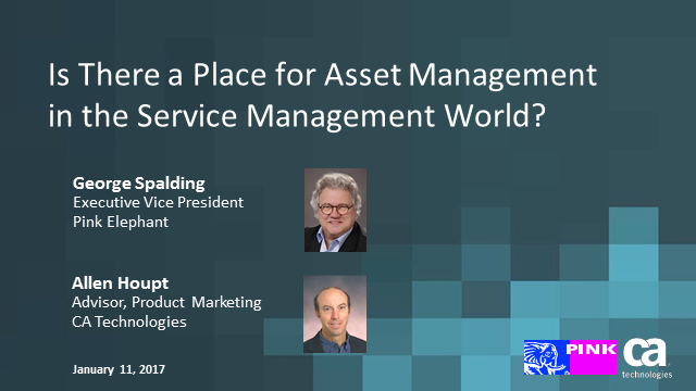 Does IT Asset Management Still have a Place in a Service Management World