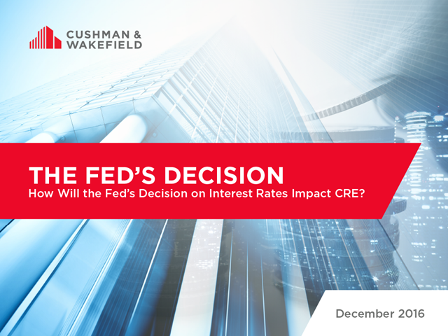 The Fed's Decision: How Will the Fed's Decision on Interest Rates Impact CRE?