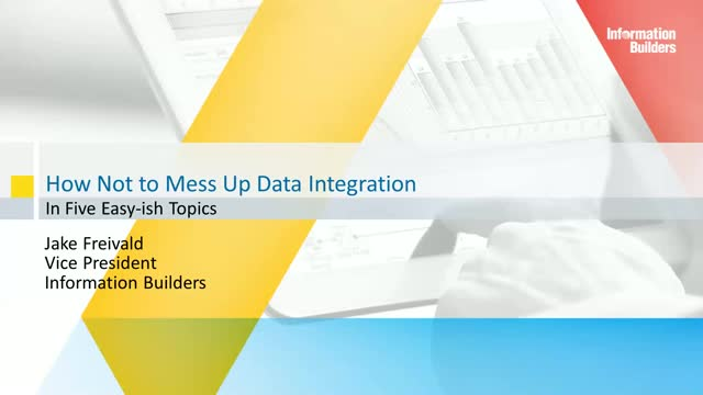 How Not to Mess Up Data Integration (in five easy-ish topics)