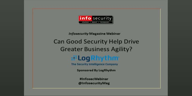 Can Good Security Help Drive Greater Business Agility? On-demand Panel debate!