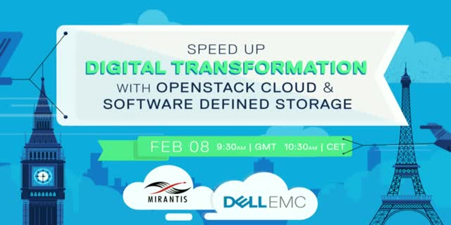 Speed up Digital Transformation with OpenStack Cloud, & Software Defined Storage
