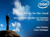 Building Blocks for the Cloud