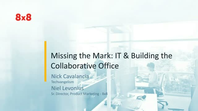 Missing the Mark: IT and Building the Collaborative Office
