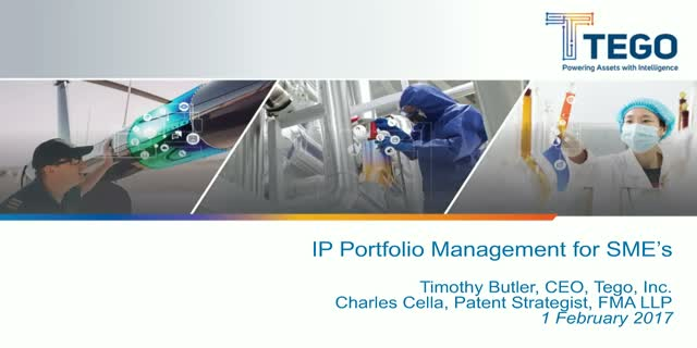 IP portfolio management for SMEs
