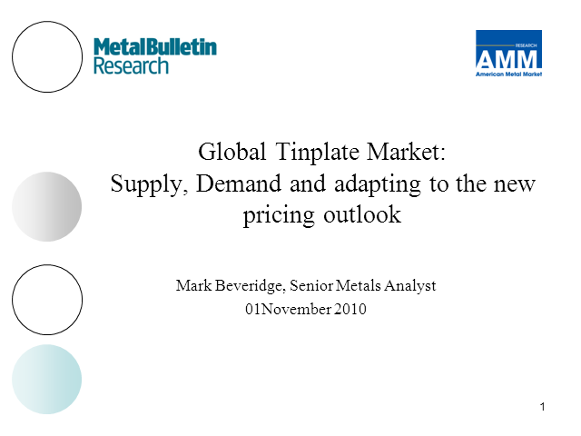 Global Tinplate Market: supply, demand & adapting to the new ....