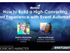 How to Build a High-Converting Event Experience with Event Automation