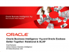 Oracle Business Intelligence 11g & Oracle Essbase