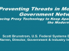 Preventing Threats in Modern Government Networks -Replacing Proxy Technology