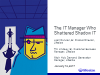The IT Manager Who Shattered Shadow IT