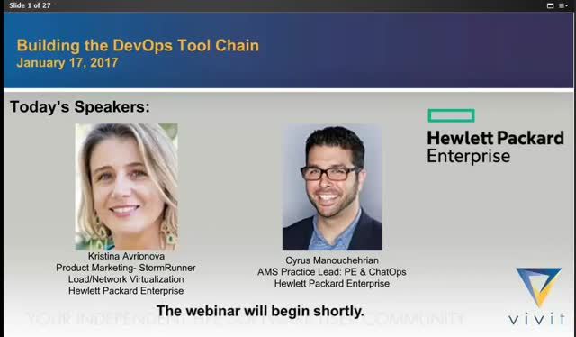 Building the DevOps Tool Chain