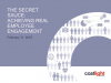 The Secret Sauce: Achieving Real Employee Engagement