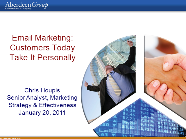 Email Optimization - Your Customers Take It Personally