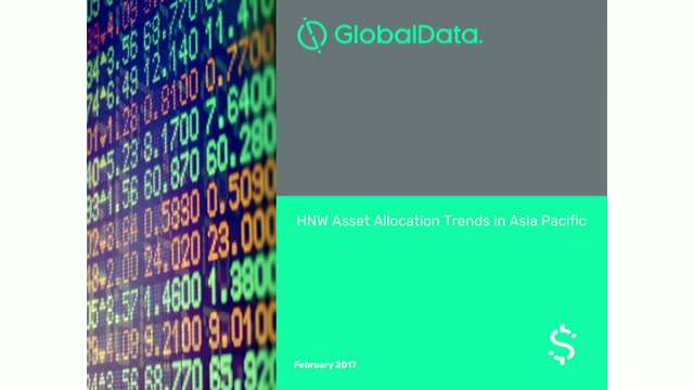 HNW Asset Allocation Trends in Asia Pacific