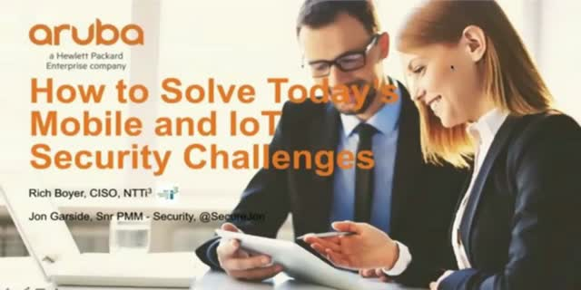 Solving Today's Mobile and IoT Security Challenges