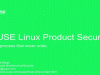 A process that never ends. . .SUSE product security