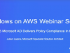 How AWS Directory Service for Microsoft AD Delivers Policy Compliance