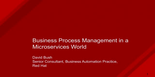 Integrating Business Process Management in a Microservices World
