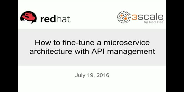 How to Fine-Tune a Microservice Architecture with API Management