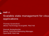 Scalable State Management for Cloud Applications